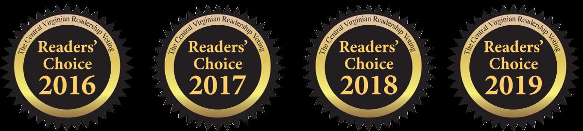 reader's choice badges