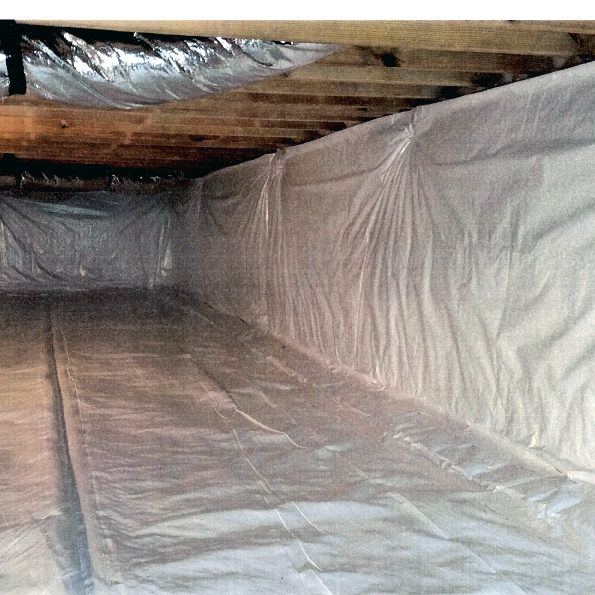 FINISHED CONDITIONED CRAWL SPACE